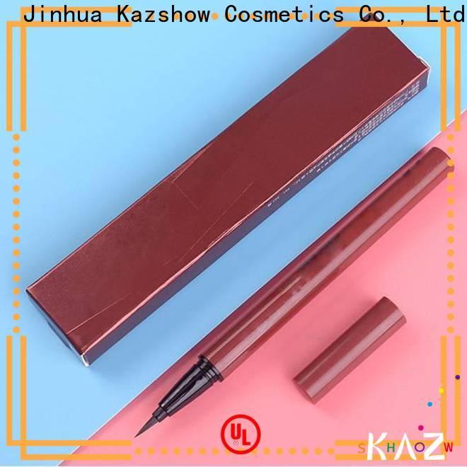 Kazshow waterproof best liquid eyeliner pen promotion for eyes makeup