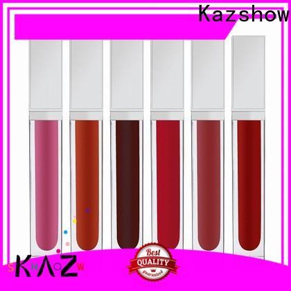 Kazshow natural lip gloss advanced technology for lip makeup