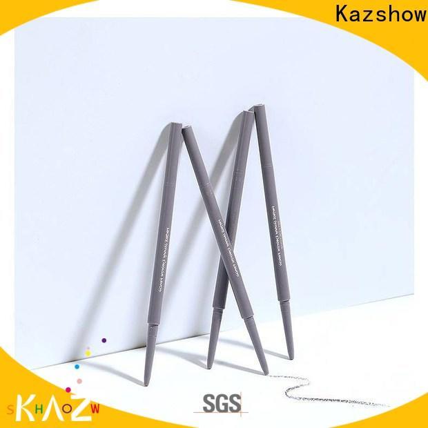 Kazshow waterproof eyebrow pencil factory for eyes makeup
