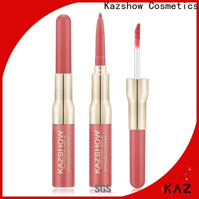 Kazshow non-stick lip gloss for girls environmental protection for business