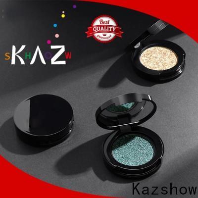 Kazshow Anti-smudge glitter eye palette manufacturer for eyes makeup