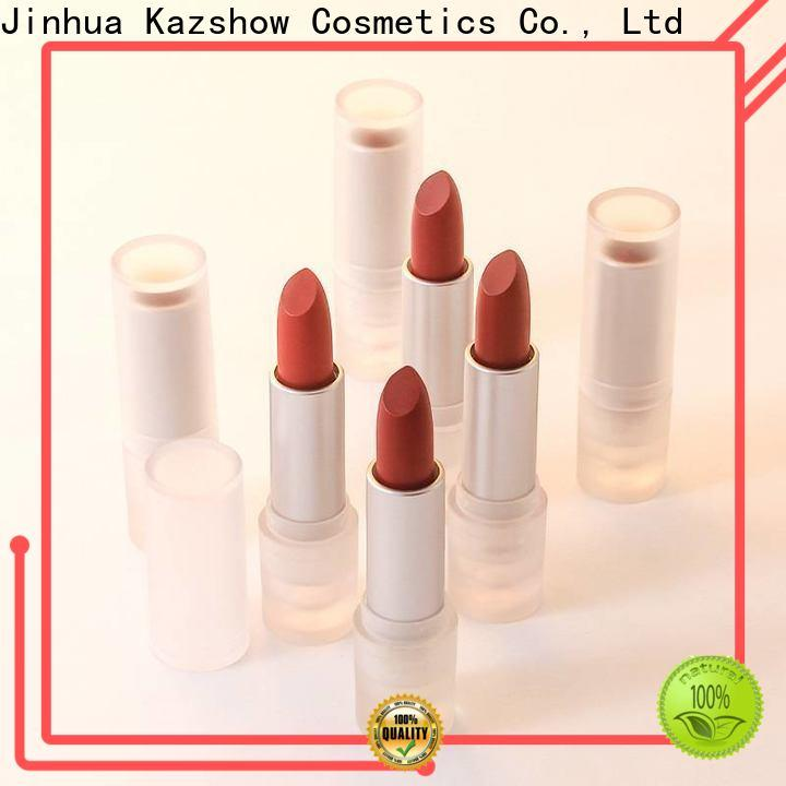 Kazshow long lasting dark red lipstick matte wholesale products to sell for women