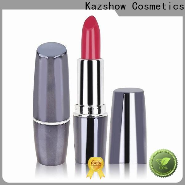 Kazshow long lasting cosmetic lipstick from China for lipstick
