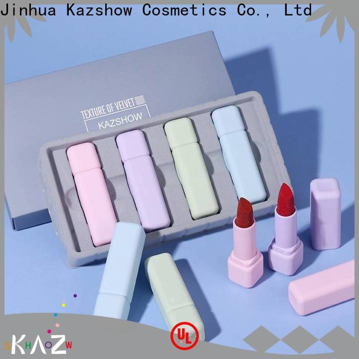 Kazshow trendy make up lipstick online wholesale market for women