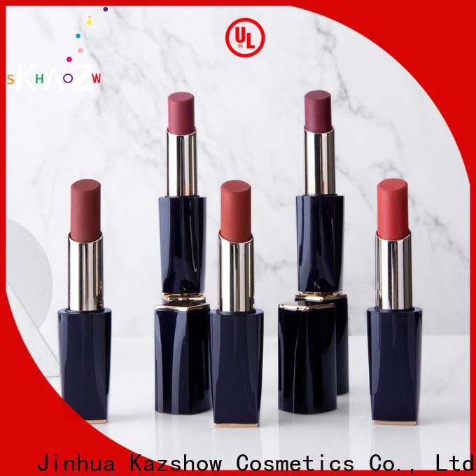 Kazshow unique design wholesale lipstick online wholesale market for lips makeup