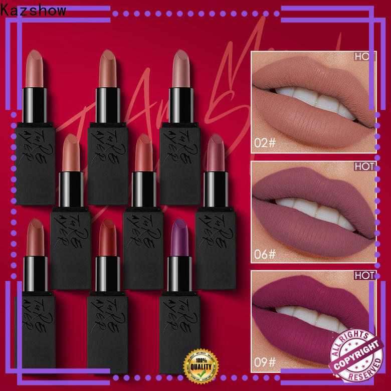 Kazshow cosmetic lipstick online wholesale market for lips makeup