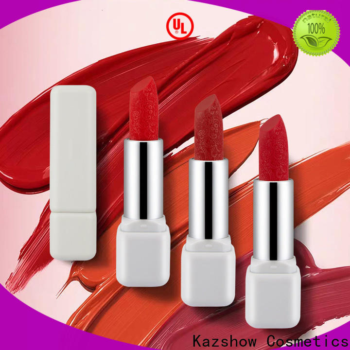 Kazshow fashion most popular lipstick wholesale products to sell for lips makeup