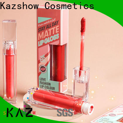 Kazshow moisturizing shiny lip gloss china online shopping sites for lip