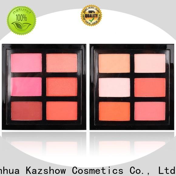 Kazshow nice design mousse blush supplier for face makeup