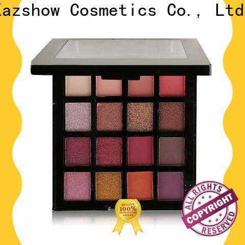 Kazshow best eyeshadow palette cheap wholesale for eyes makeup