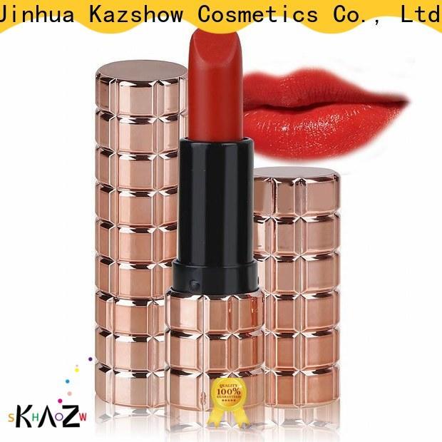 Kazshow fashion dark red lipstick matte from China for lipstick