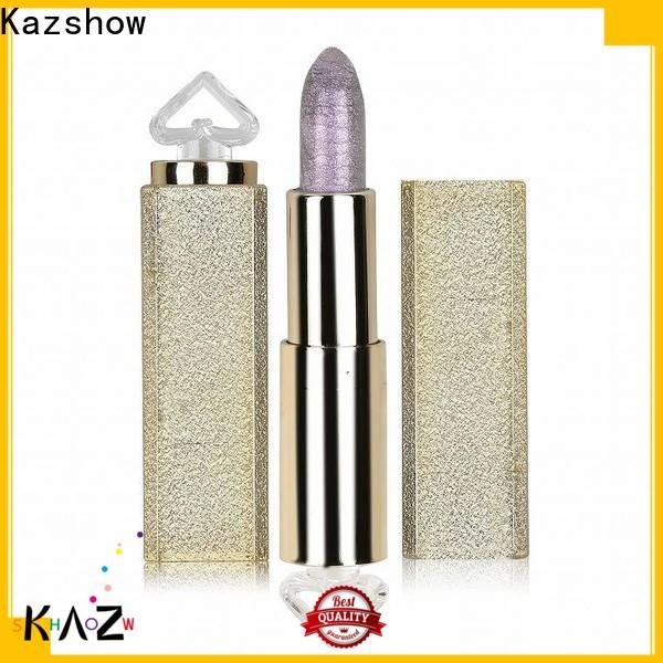Kazshow dark red lipstick matte from China for lips makeup