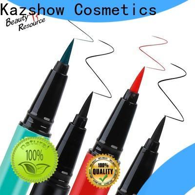 Kazshow best waterproof eyeliner pencil on sale for ladies