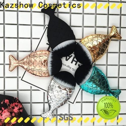 Kazshow full makeup brush set directly sale for cheek makeup