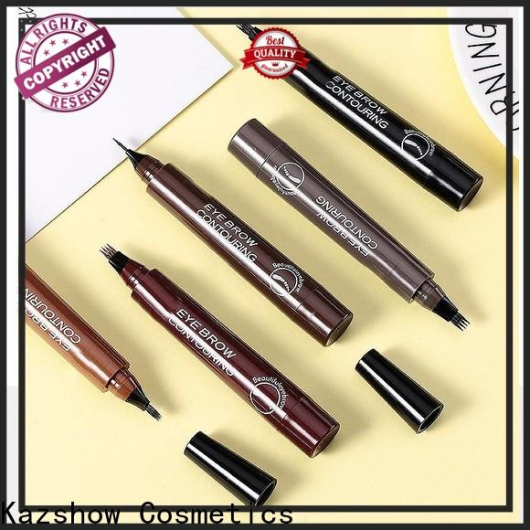Kazshow unique design felt eyebrow pen with good price for eyebrow