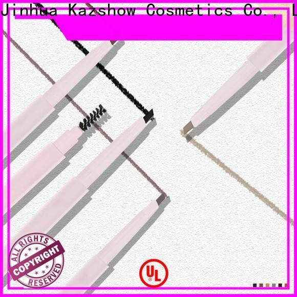 Kazshow double-head eyebrow gel pen factory for eyebrow