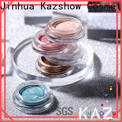 Kazshow waterproof liquid shimmer eyeshadow personalized for eyes makeup