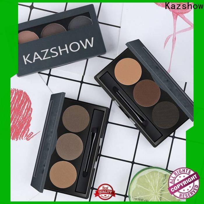 Kazshow Anti-smudge eyebrow filler powder online wholesale market for eyes makeup