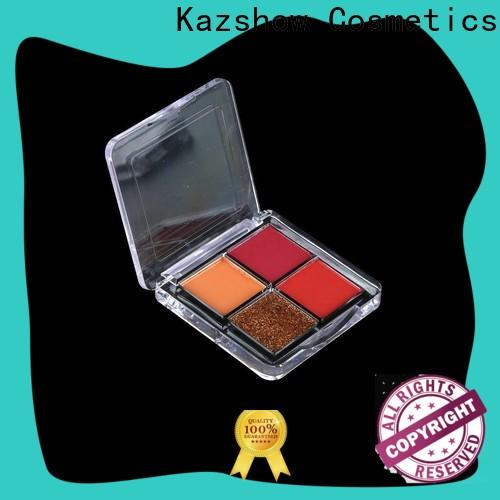 Kazshow Anti-smudge pro eyeshadow palette manufacturer for eyes makeup
