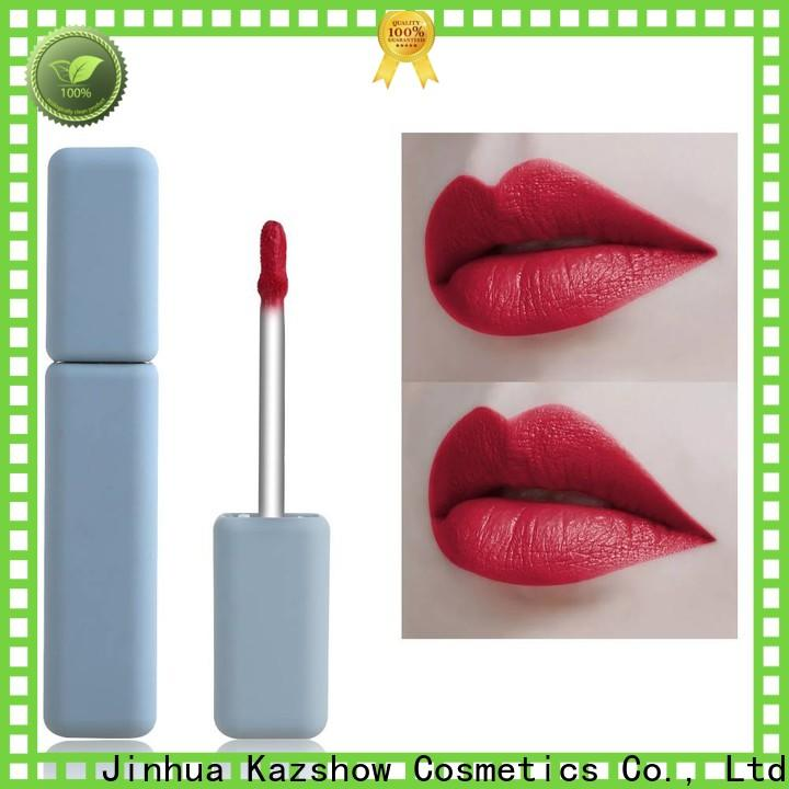 Kazshow non-stick natural lip gloss advanced technology for lip