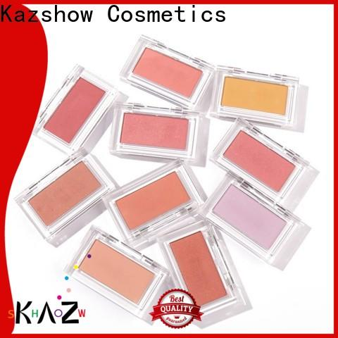 Kazshow fashionable cream blush factory price for cheek