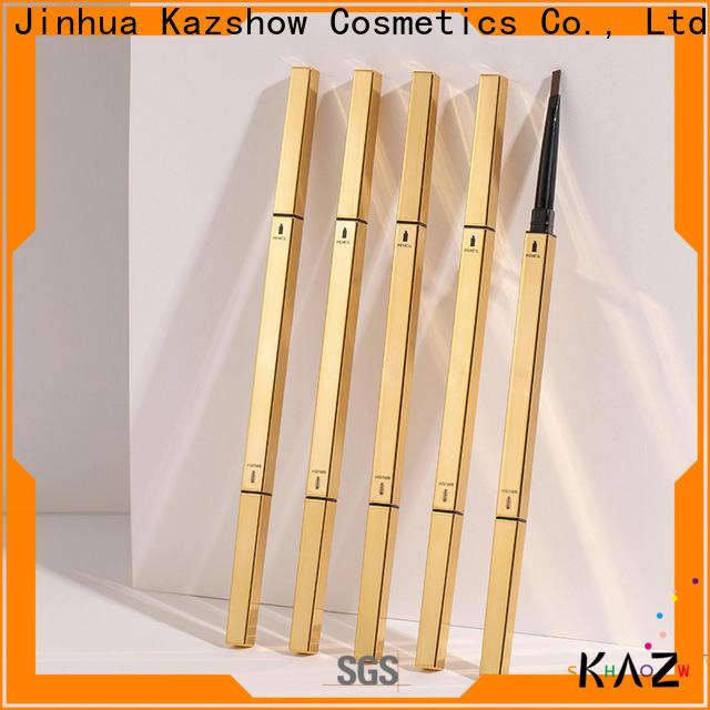 Kazshow double-head black eyebrow pencil design for business