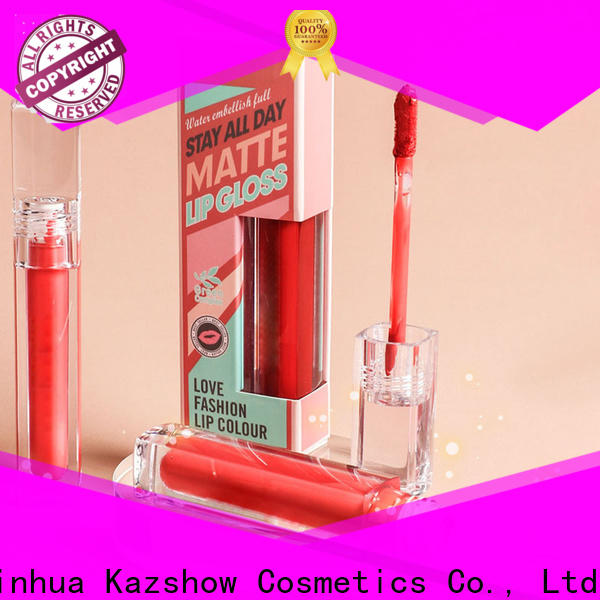 Kazshow sparkly tinted lip gloss china online shopping sites for lip