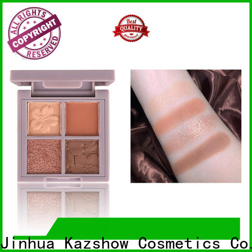 Kazshow pigmented eyeshadow palette china products online for women