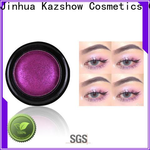 Kazshow pigmented eyeshadow palette cheap wholesale for women