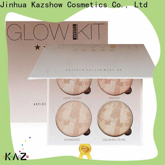 Kazshow Anti-smudge highlighter powder wholesale online shopping for face makeup