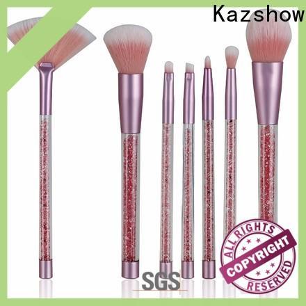 Kazshow Custom bh cosmetics makeup brushes factory price for highlight makeup