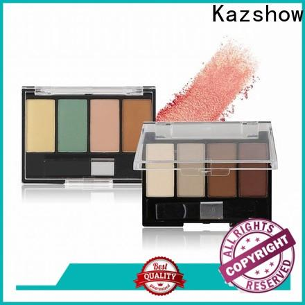 Kazshow waterproof pressed glitter eyeshadow company for women