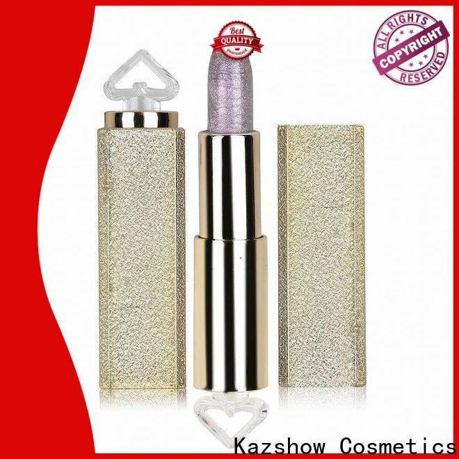 Kazshow High-quality pink color lipstick from China for women