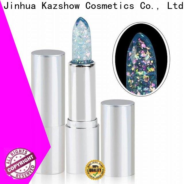 Kazshow long lasting eyeshadow with red lipstick company for women