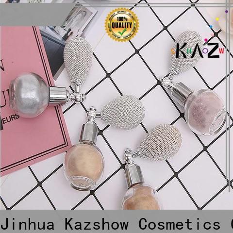 Kazshow Best shimmerista highlighting powder factory for face makeup