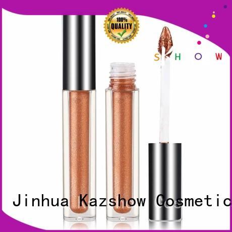 Kazshow waterproof liquid glitter eyeshadow factory price for beauty