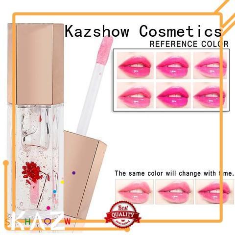 Kazshow moisturizing lip oil personalized for women