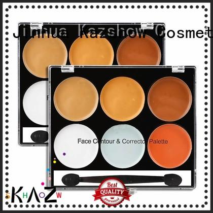 Kazshow waterproof concealer for dark skin factory price for face makeup