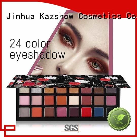 Kazshow most popular eyeshadow palettes cheap wholesale for eyes makeup