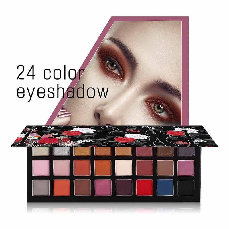 24 Color Cream eyeshadow palette makeup