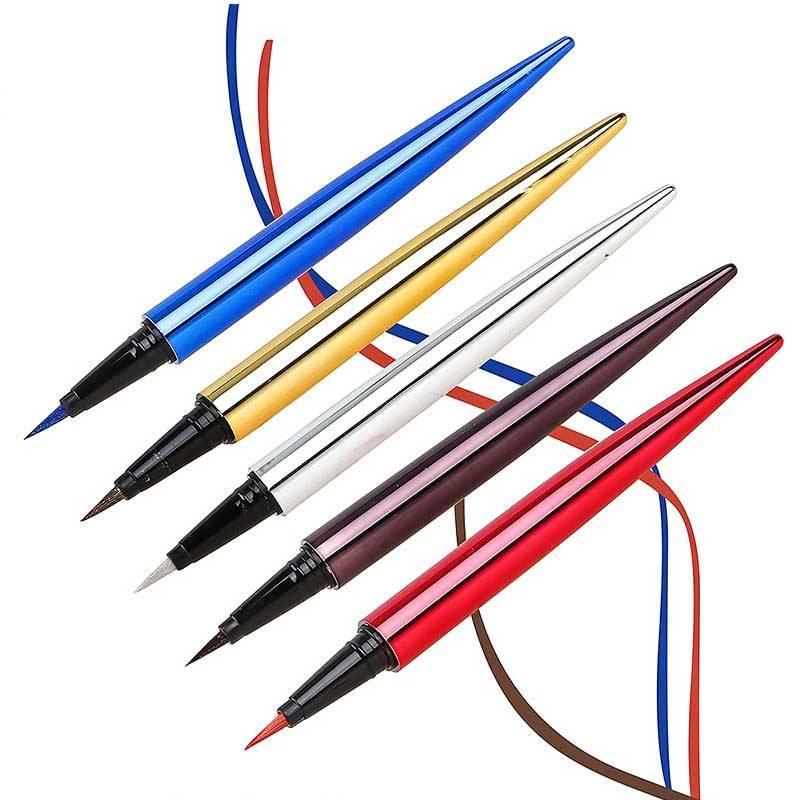 Color glitter waterproof eyeline pen