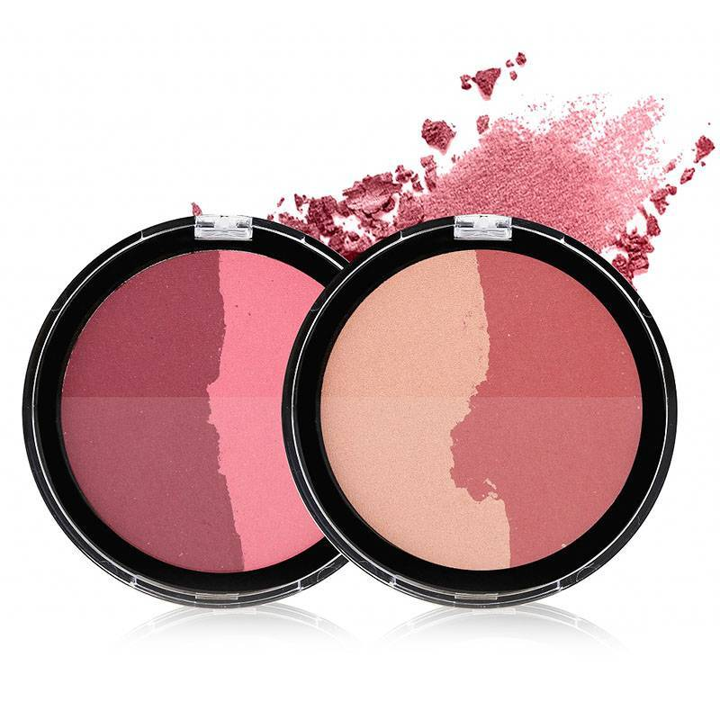 Double color blush Cheek Blush with nice design