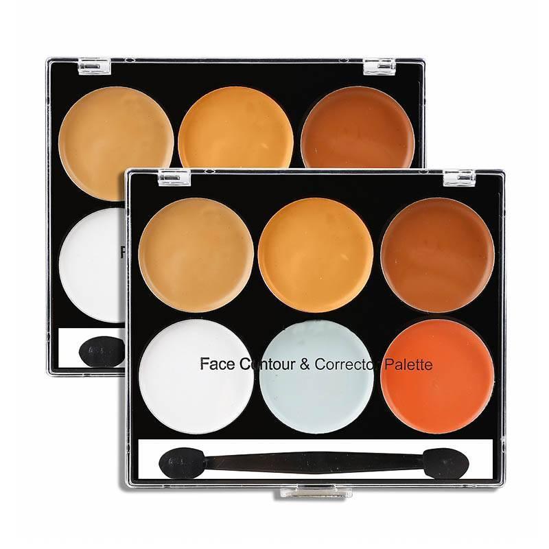 6 color concealer cream Flawless Concealer