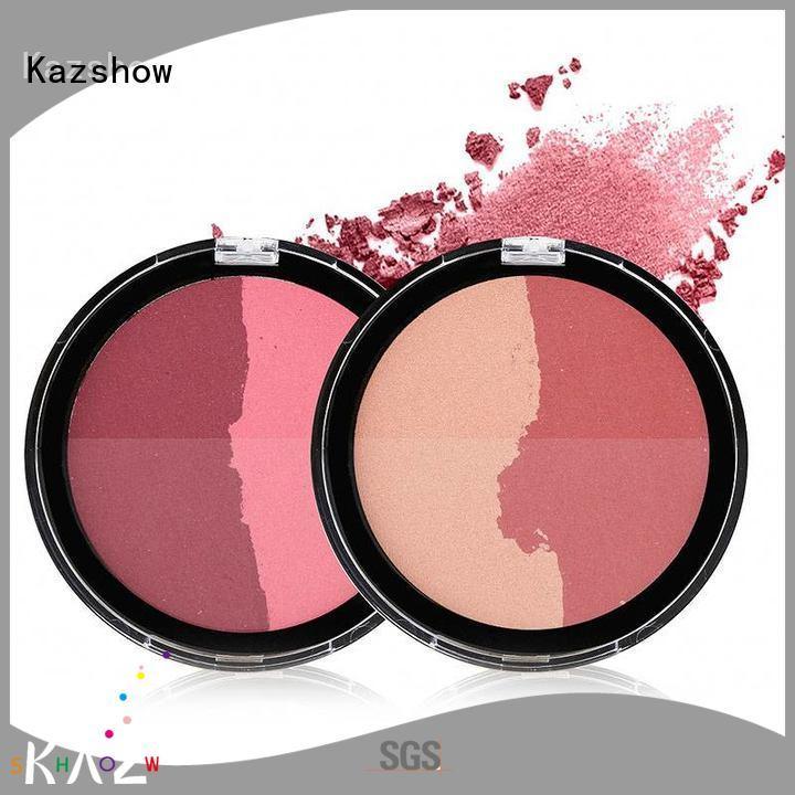 Kazshow blush makeup supplier for highlight makeup