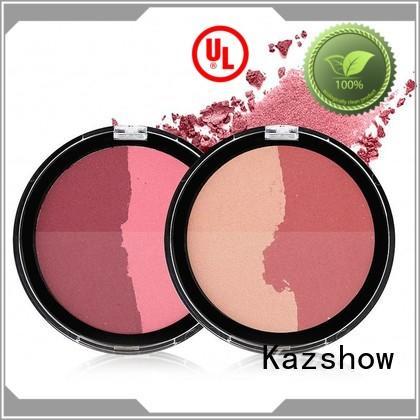 Kazshow natural cheek blush personalized for highlight makeup