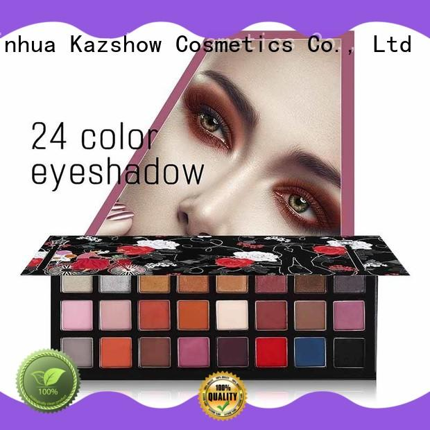 Kazshow most popular eyeshadow palettes cheap wholesale for eyes makeup