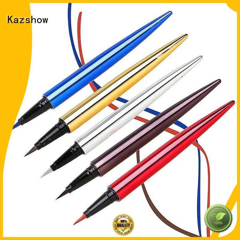 Kazshow waterproof eye pencil promotion for makeup