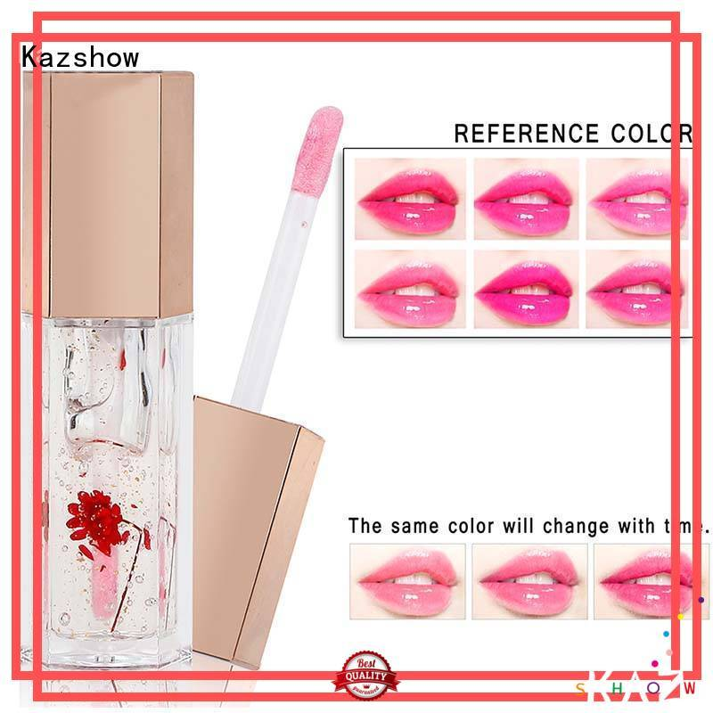 Kazshow moisturizing lip gloss oil personalized for women