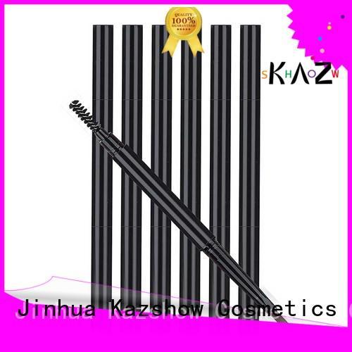 Kazshow waterproof eyebrow pencil design for eyes makeup