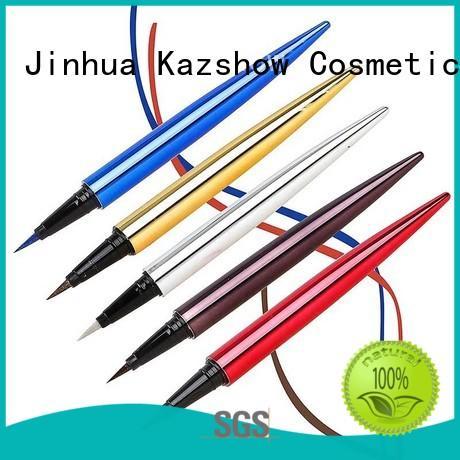 Kazshow glitter liquid eyeliner pen promotion for makeup